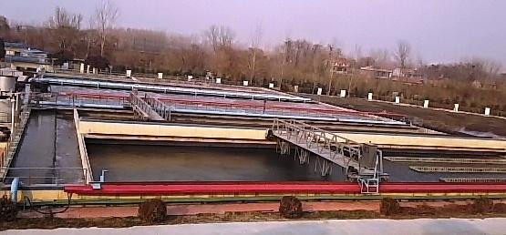 青州の汚水処理場