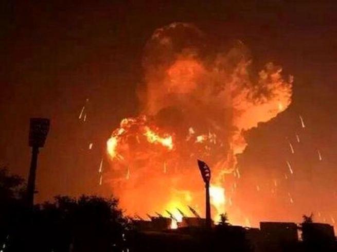天津大爆発