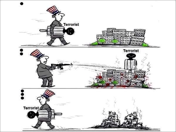 これがテロ